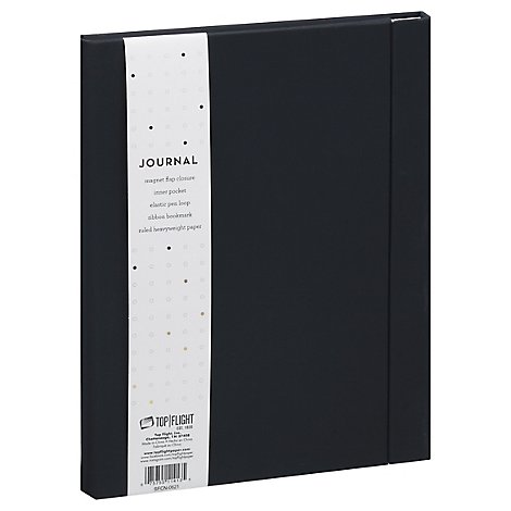 Tp Flight Pu Journal Black - Each
