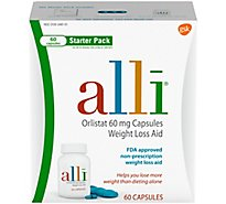 Alli Diet Weight Loss Starter Pack - 60 Count