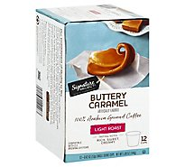 Signature Select Coffee Pod Buttery Caramel - 12 Count