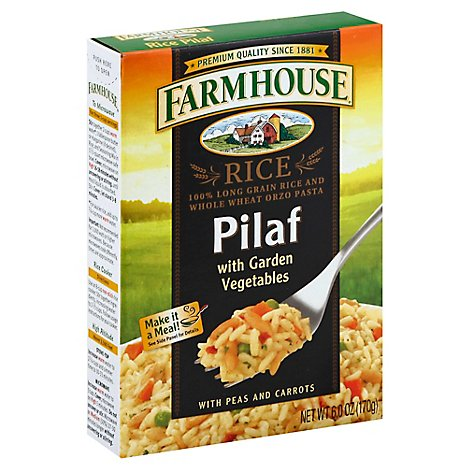 Farmhouse Garden Vegetable Rice Pilaf - 6 Oz