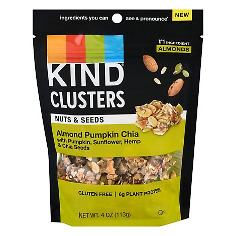 KIND Nut Clusters Almond Pumpkin Chia - 4 Oz