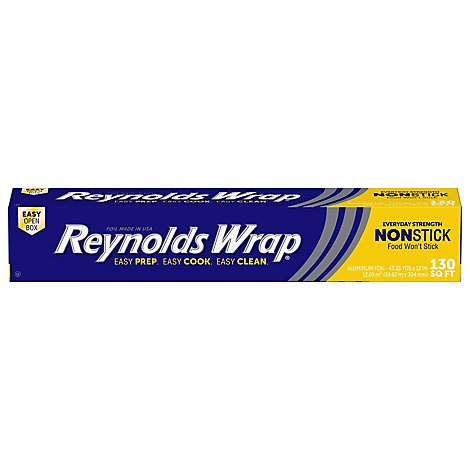 Reynolds Wrap Aluminum Foil Foodwrap - 130 Sq. Ft.