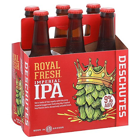 Deschutes Royal Fresh Imperial Ipa In Bottle - 6-12 Fl. Oz.