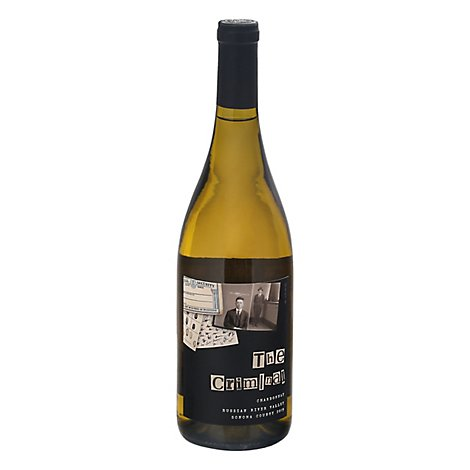 The Criminal Chardonnay Russ Rvr Wine - 750 Ml