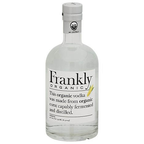 Frankly Organic Vodka - 750 Ml