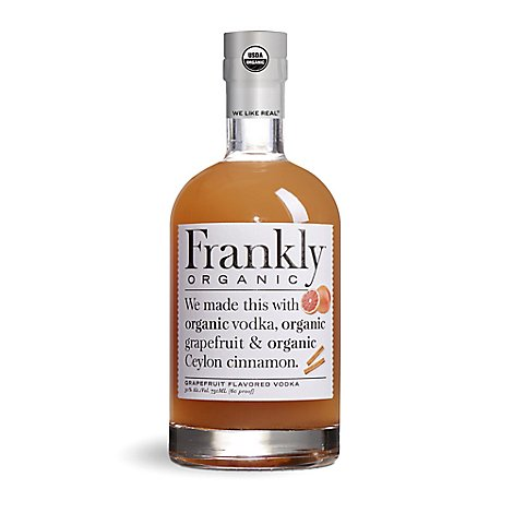 Frankly Organic Grapefruit Vodka - 750 Ml