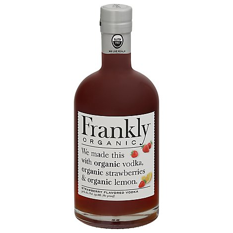 Frankly Organic Strawberry Vodka - 750 Ml