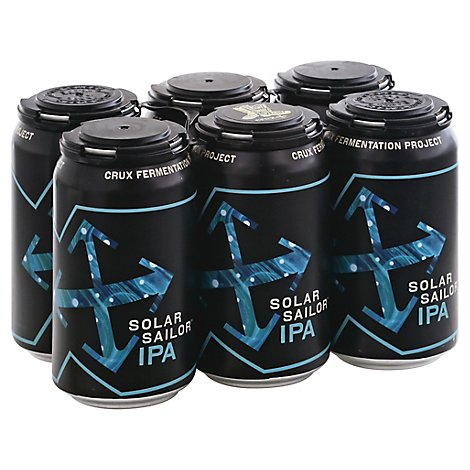 Solar Sailor Ipa West Coast Ipa With Citrus And Tropical In Cans - 6-12 Fl. Oz.