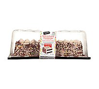 Signature Select Ice Cream Cake Choc Cake Van Ic 1/4 Sheet - 66 Oz