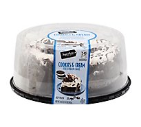 Signature Select Ice Cream Cake Cookies And Cream 8in - 34 Oz