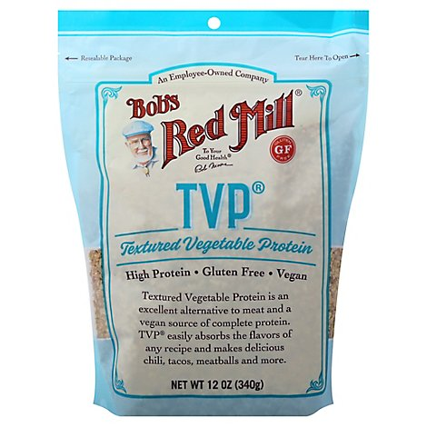 Bobs Red Mill TVP Textured Vegetable Protein - 12 Oz