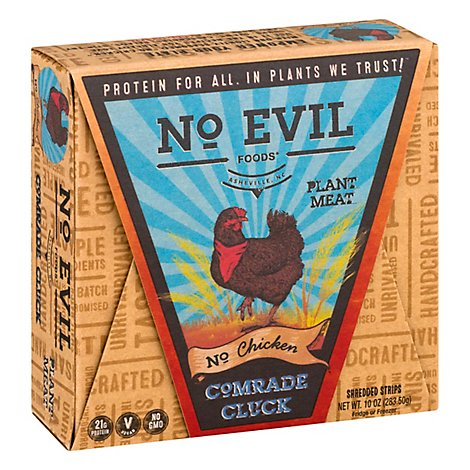 No Evil Foods Comrade Cluck No Chicken - 10 Oz