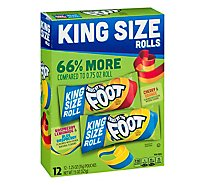Fruit By The Foot King Sized Variety Pack 12 Count - 15 Oz