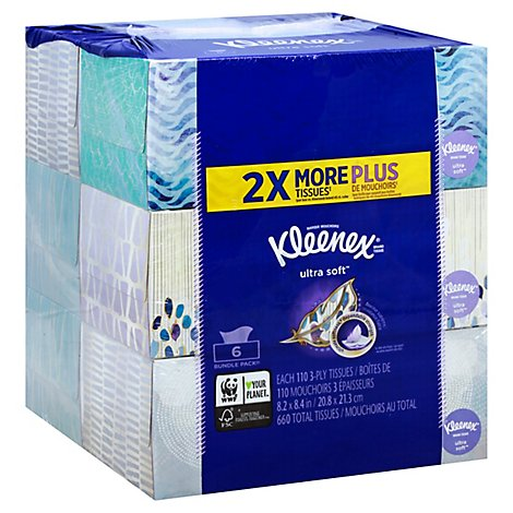 Kleenex Ultra Flat Ft 45ctx4pk - 6-110 Count