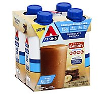 Atkins Ready To Drink Shake Chocolate Banana - 4-11 Fl. Oz.