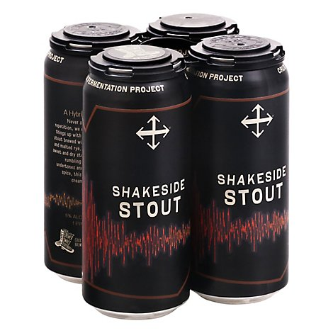 Crux Shakeside Stout In Cans - 16 Fl. Oz.