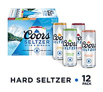Coors Hard Seltzer Variety In Cans - 12-12 Fl. Oz.
