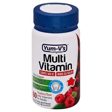 Yummy Jelly Fruit Flvr Multi Vitamin - 60Count