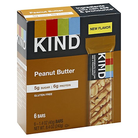 Kind Bar Peanut Butter - 6-1.4 Oz