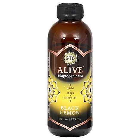 Gts Alive Black Lemon - 16 Oz