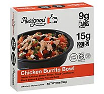 Realgood Chicken Burrito Bowl - 9 Oz