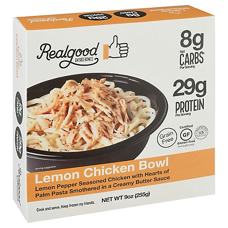 Realgood Lemon Chicken Bowl - 9 Oz
