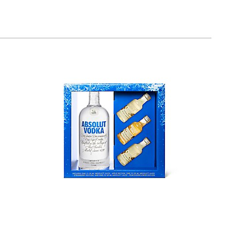Absolut Vodka With 3 Juices Bottle - 750 Ml