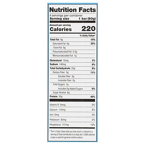 One Birthday Cake Protein Bar - 4-2.12 Oz