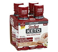 Slimfast Keto Ready To Drink Vanilla Cream - 4-11 Fl. Oz.