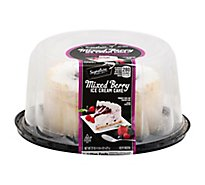 Signature Select Ice Cream Cake Mixed Berry 6 Inch - 22 Oz