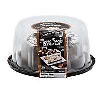 Signature Select Ice Cream Cake Moose Tracks 6 In - 22 Oz