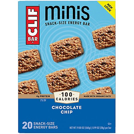 Clif Chocolate Chip Mini Bars - 20-.99 Oz