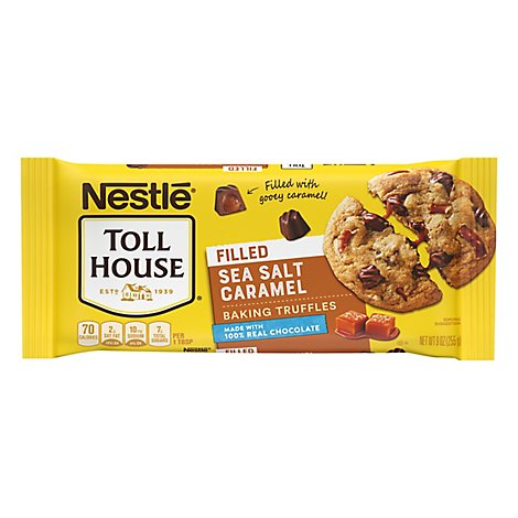 Nestle Toll House Sea Salt Caramel Truff - 9 Oz