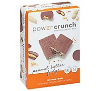 Power Crunch Peanut Butter Fudge Protein Bar - 5-1.4 Oz