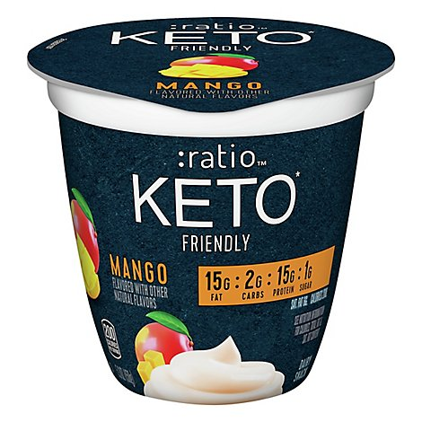 Ratio Keto Friendly Mango Dairy Snack - 5.3 Oz