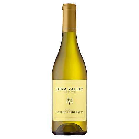 Edna Valley Buttery Chardonnay Wine - 750 Ml