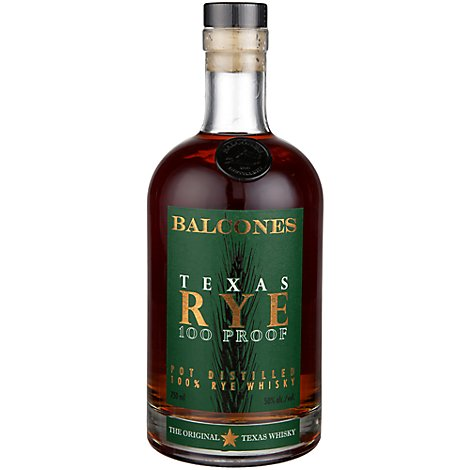 Balcones Rye Whiskey - 750 Ml