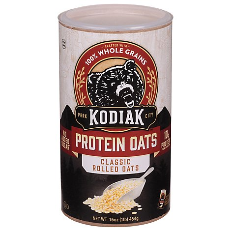 Kodiak Cakes Protein Oats Rolled Frontier Style - 16 Oz