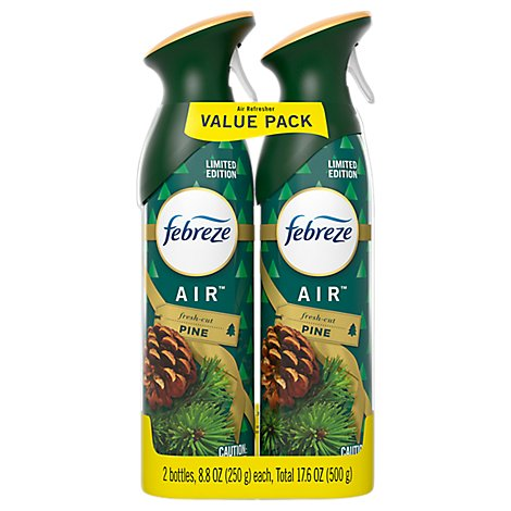 Febreze Air Refresher Air Fresh Cut Pine - 2-8.8 Oz