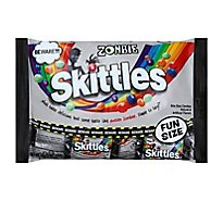 Skittles Zombie Halloween Candy Fun Size Bag - 10.72 Oz