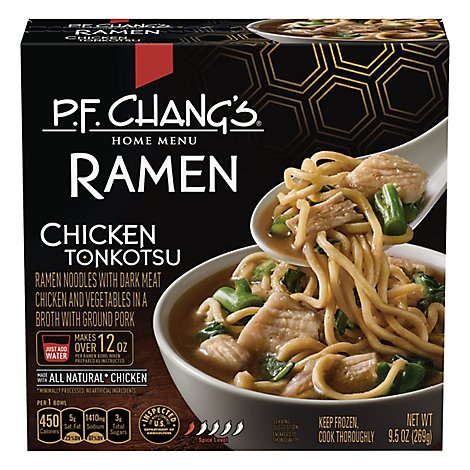 P.F. Changs Home Menu Ramen Chicken Tonkotsu Frozen - 9.5 Oz