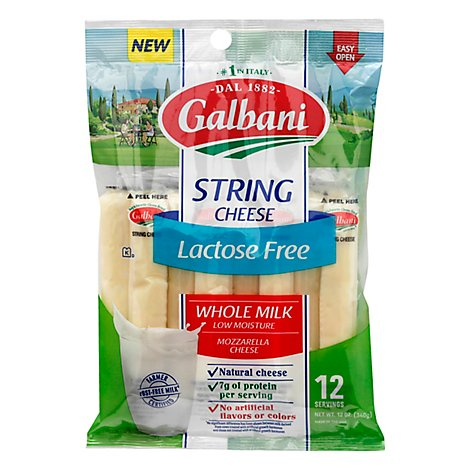 Galbani Lactose Free String Cheese - 12 Oz