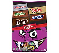 Mars Chocolate Candy Halloween Variety Mix 250 Count - 77.58 Oz