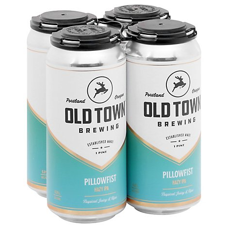 Old Town Pillowfist Hazy In Cans - 4-16 Fl. Oz.