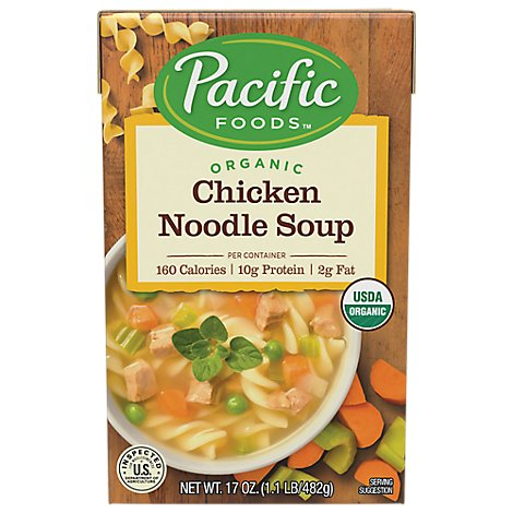 Pacific Foods Soup Chkn Noodle Org - 17 Oz
