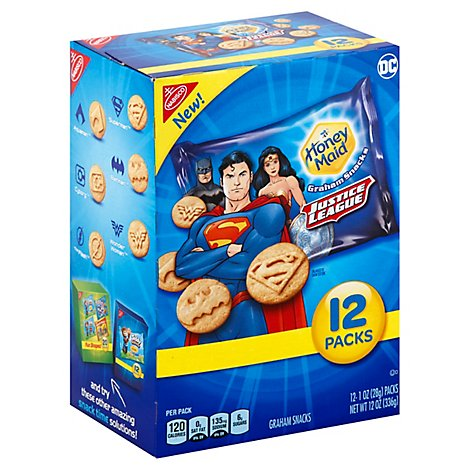 Honey Maid Graham Snacks Justice League - 12-1 Oz