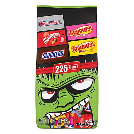 Mars Chocolate Candy Bar Halloween Mix 225 Count - 68.71 Oz