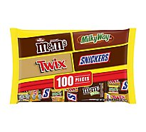 Mars Chocolate Candy Halloween Favorites Variety Mix 100 Count - 34.74 Oz