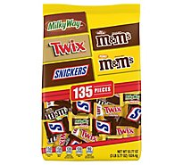 Mars Chocolate Candy Halloween Variety Mix 135 Count - 53.77 Oz