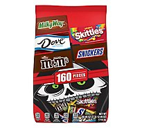 Mars Chocolate Candy Halloween Variety Mix 160 Count - 60.49 Oz